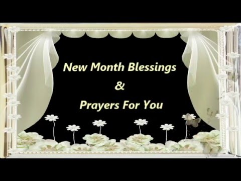 Happy new month blessings prayers wishesquotessmsgreetings youtube premium m4hsunfo