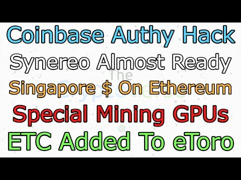 Claim Peerplays, Authy Hack, Synereo Launch, ETC on eToro and Special Mining (The Cryptoverse #278)