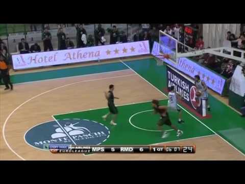 Montepaschi Siena steals and transition