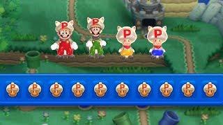 New Super Mario Bros U - P-Acorn Power-Up