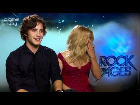 'Rock of Ages' Julianne Hough and Diego Boneta interview