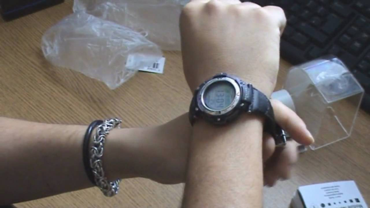 4eeb3cf4577 Unboxing Casio SGW-100B Watch - YouTube