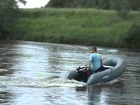 тест драйв лодок солар видео