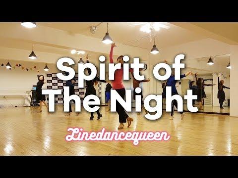 Spirit Of The Night Line Dance (Romain Brasme & Marlon RONKES) Intermediate