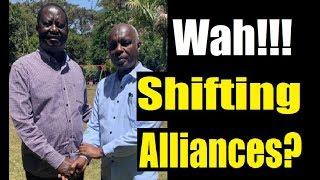 Is Kivutha Kibwana Raila's New Man In Ukambani?