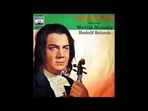 "Rudolf Schock & Melitta Muszely ""Szenenfolge"" Paganini"