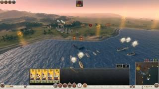 3vs3 Coastal Battle , Rome 2: Total War Online Battle # 316 English
