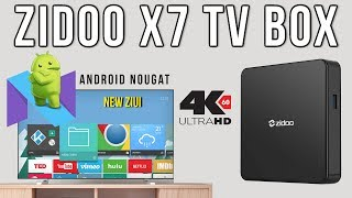 zidoo X7 Android TV Box REVIEW - Android 7.1.2, RK3328, 2GB RAM