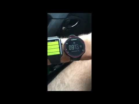 Garmin 235 Vs Apple Watch Series 2 Test Running