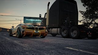 Need For Speed Payback - Humiliating Natalia Nova with a 200mph Semi-Truck