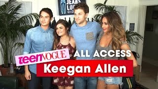 Keegan Allen Reveals His 'Pretty Little Liars...