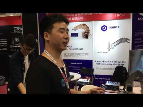 Desktop robotic arm offers industrial-level performance