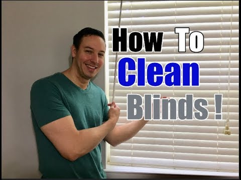 How To Clean Blinds | Overcome Your Dusty Days of Distress!