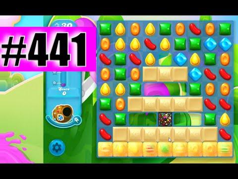 Candy Crush Soda Saga Level 441 NEW   Complete!