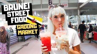 Brunei Nightlife SURPRISED us?! Visiting Gadong Night Market!!!