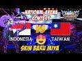 Miya Tampil Dengan Skin Baru Indonesia vs Taiwan National Arena Contest