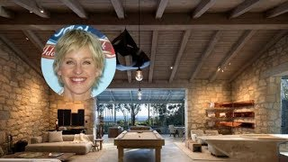 Ellen DeGeneres' Santa Barbara Tuscan Villa is Out of this World… Yours for Only $45 Million 2018
