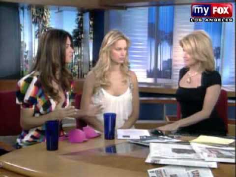 2008-03-04 Fox Morning Show with Adriana Lima and  Karolina Kurkova