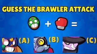 Guess the Brawler Attack | Brawl Stars Quiz