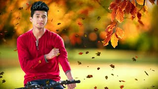 Get DSLR Look With Blur Background | Picsart Natural Edit falling leaf | Picsart Editing Tutorial |