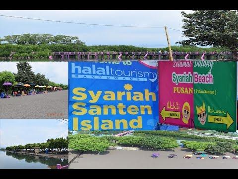 SYARIAH BEACH Sulap PULAU SANTEN Berkonsep Halal Tourism(PUSAN)