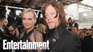 Watch Diane Kruger And Norman Reedus Kiss At The Golden Globes | News Flash | Entertainment Weekly