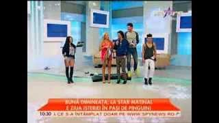 """RADHU - Emisiune """"Star Matinal"""" (Antena Stars)"""