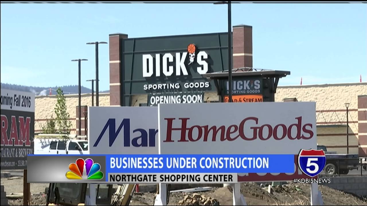 New businesses under construction at Northgate Shopping Center
