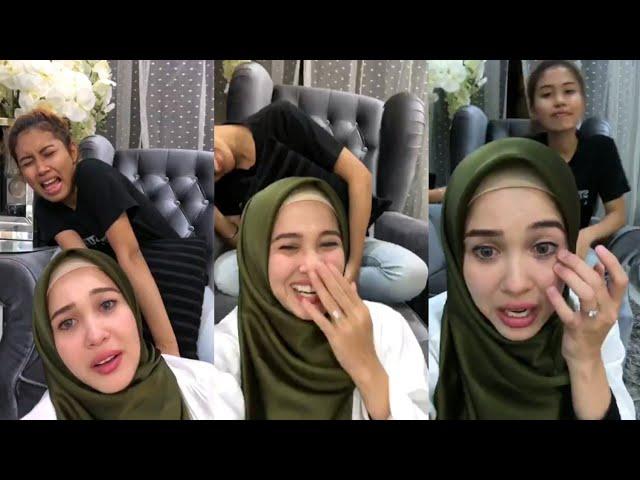 Emma Maembong gelak sampai cair makeup kacau PA melatah
