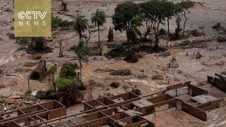 Toxic mud after a dam break in Brazil reaches the Atlantic Ocean