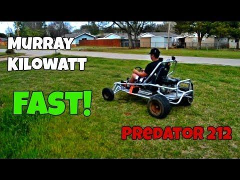 MURRAY KILOWATT W/ PREDATOR 212 PROJECT KART pt 1