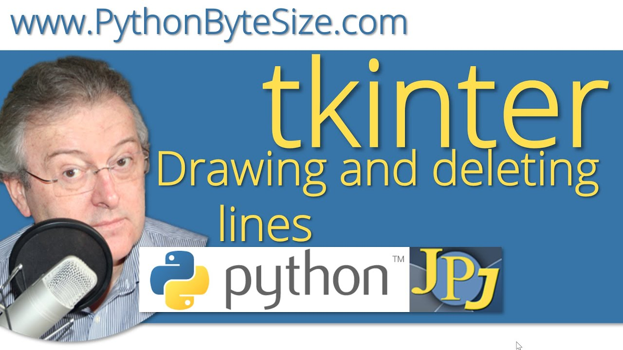 Drawing and deleting lines on a tkinter canvas