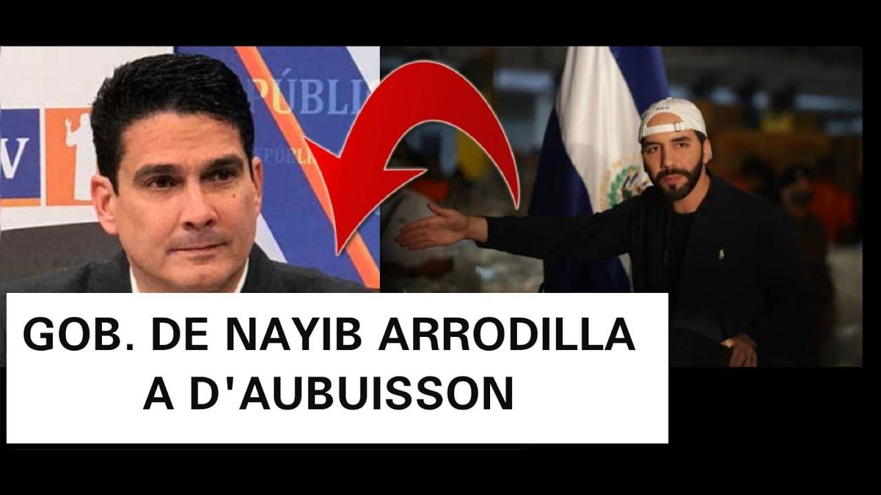 NAYIB ARRODILLA AL PRINCESO GRACIAS HOY EL PUEBLO TIENE DIGNIDAD