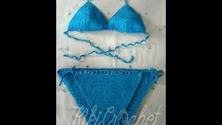 Πλεκτο Μαγιω με Βελονακι (μερος 2ο)/ Crochet Bikini Bottom Tutorial