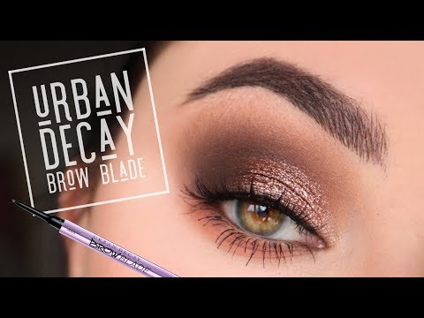 Urban Decay Brow Blade Review & Tutorial