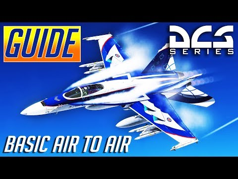 DCS: Basic Air to Air Combat Guide + Tacview Review/Explanation