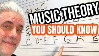 Music Theory Everyone SHOULD KNOW | Chords, Progressions and Keys