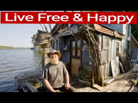 101 Small Houseboats Living Free & Happy on the Water - YouTube