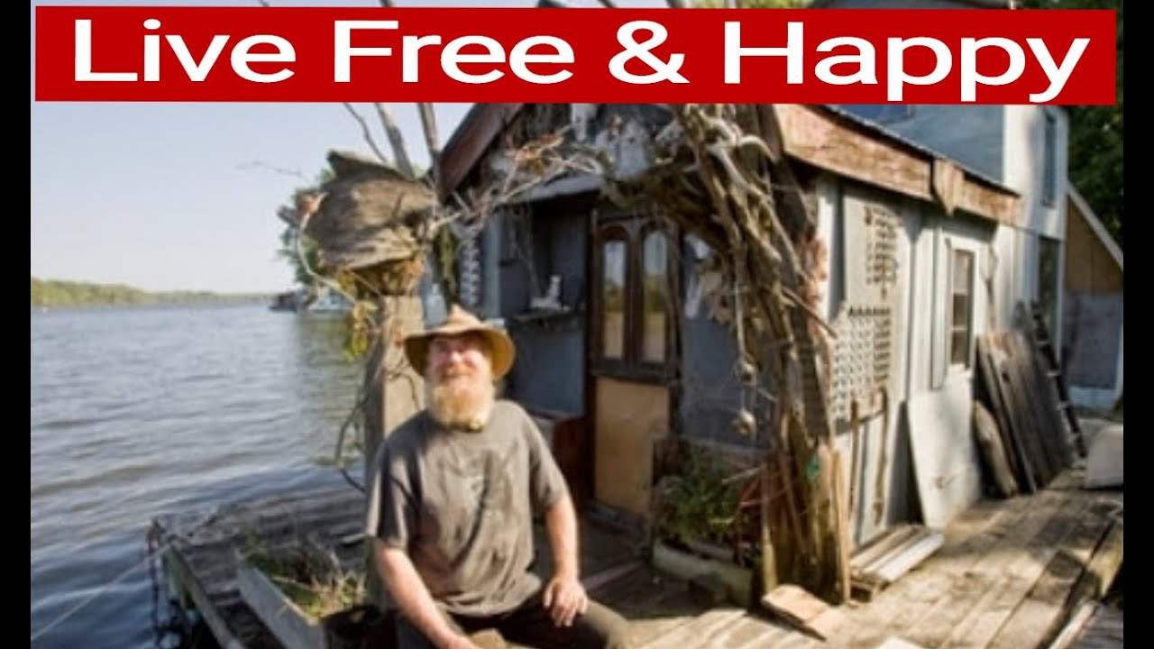 101 Small Houseboats Living Free U0026 Happy On The Water   YouTube