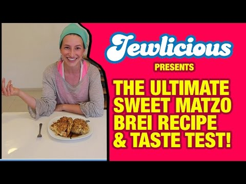 The Ultimate Sweet Passover Matzo Brei...
