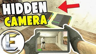 Hidden Camera - Gmod DarkRP (OP Money Printers and I Made A Money Printer Stand!) Robbed 2 Million