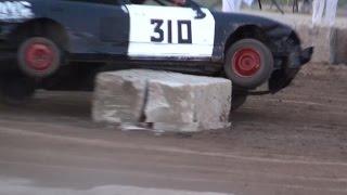 Paris Fair Demolition Derby 2015 | Figure 8 Race 3 & 4