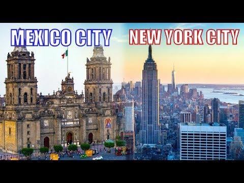 MEXICO CITY vs NEW YORK CITY ? Pros and Cons (CDMX vs NYC) !