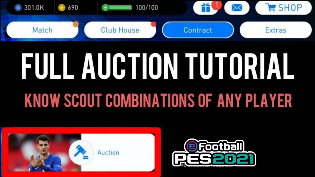 How to buy any player in PES 19 Mobile - Full Auction Tutorial