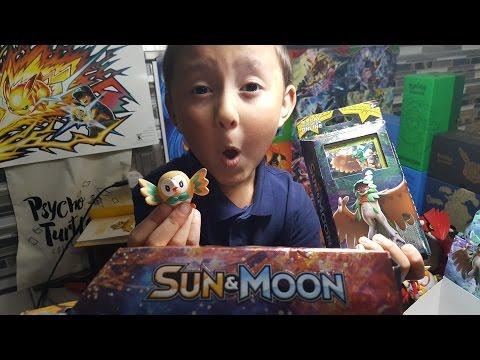Pokemon Sun And Moon Decidueye Rowlet Forest Shadow Theme Deck Opening!!