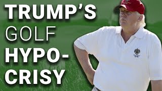 Trump Says We Must Get Down to Business, Takes 23rd Golf Trip in 19 Weeks