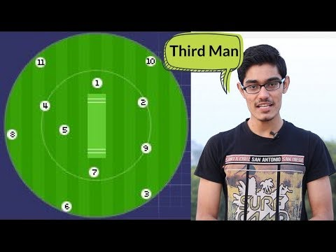 Field Positions in Cricket | Point, Cover, Third Man, Fine L