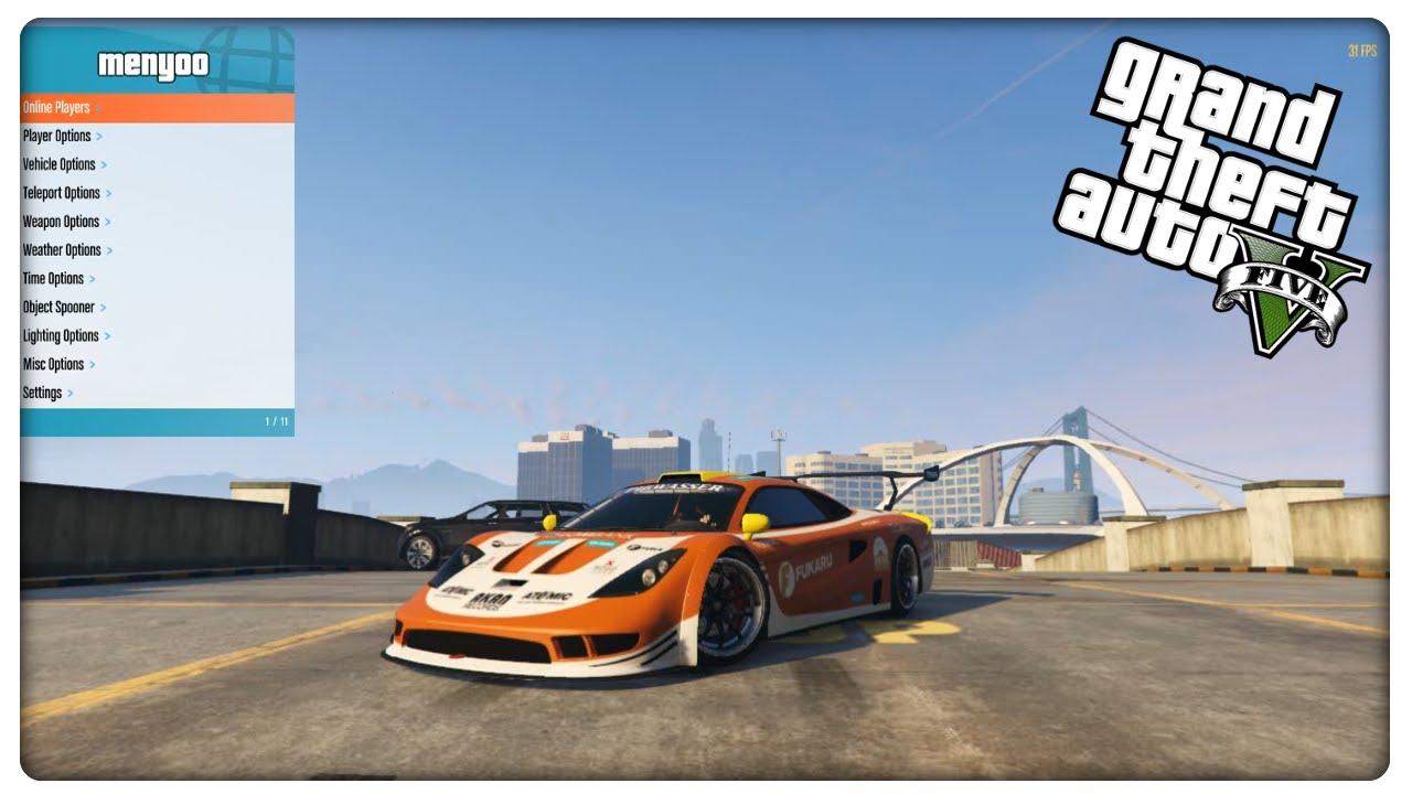 GTA 5 PC Mod Menu - MENYOO + After Patch 1 38 + DOWNLOAD - PC Mod Menu  Showcase