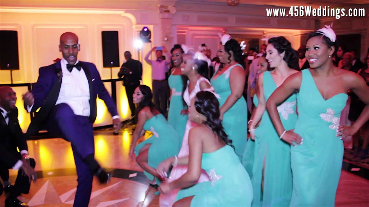 Epic Wedding Dance With Amazing Bridal Party Best Cography Ever You