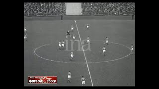 1955 USSR France 2 2 Friendly football match review 2